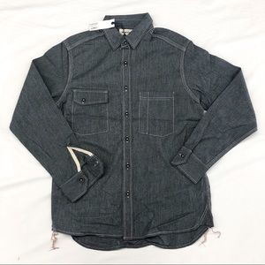ac27dc6411 Taylor Stitch Utility Shirt in Salt   Pepper